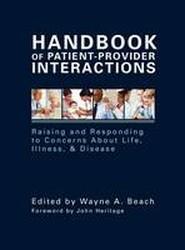 Handbook of Patient-Provider Interaction