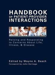 Handbook of Patient-Provider Interactions