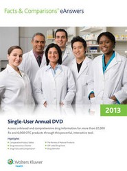 Facts & Comparisons Eanswers Annual DVD 2013