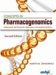 Concepts in Pharmacogenomics