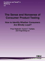 The Sense and Nonsense of Consumer Product Testing
