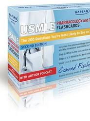 Kaplan Medical USMLE Pharmacology and Treatment Flashcards