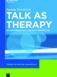 Talk as Therapy