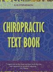 Chiropractic Text Book
