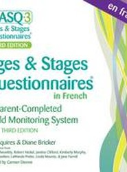 Ages & Stages Questionnaires in French, (ASQ-3 French)
