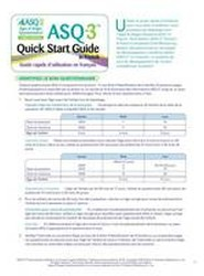 ASQ-3 Quick Start Guide in French