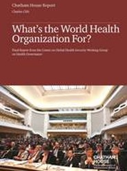 What's the World Health Organization For?