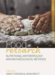 Food Research: Research Methods for Anthropological Studies of Food and Nutrition Part 1