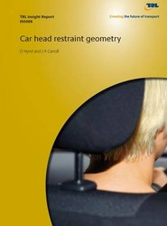 Car Head Restraint Geometry