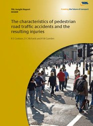 The Characteristics of Pedestrian Road Traffic Accidents and the Resulting Injuries