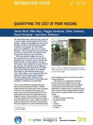 Quantifying the Cost of Poor Housing