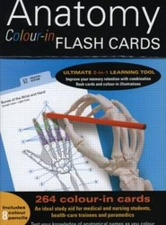 Anatomy Colour-in Flash Cards