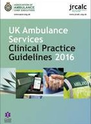 UK Ambulance Services Clinical Practice Guidelines 2016