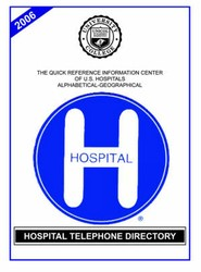 Hospital Telephone Directory, 2006 Edition