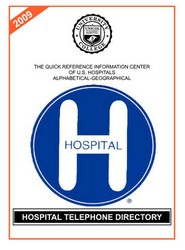 Hospital Telephone Directory, 2009 Edition