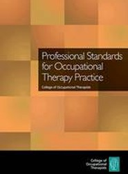Professional Standards for Occupational Therapy Practice