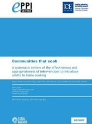 Communities That Cook. A Systematic Review of the Effectiveness and Appropriateness of Interventions to Introduce Adults to Home Cooking