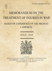 Memorandum - Treatment of Injuries in War