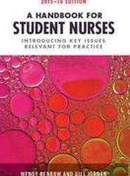A Handbook for Student Nurses 2015-16