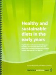 Healthy and Sustainable Diets in the Early Years