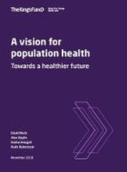 A A vision for population health