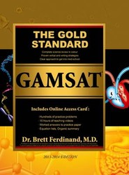 Gold Standard GAMSAT Preparation with Online Card (UK, Ireland)