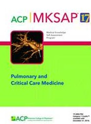 MKSAP 17 Pulmonary and Critical Care Medicine