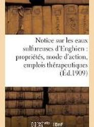 Notice Sur Les Eaux Sulfureuses D'Enghien