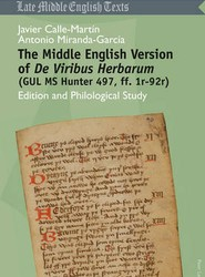 The Middle English Version of De Viribus Herbarum (GUL MS Hunter 497, Ff. 1r-92r)