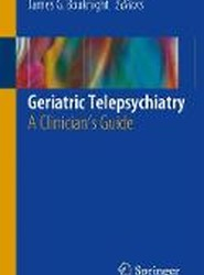 Geriatric Telepsychiatry