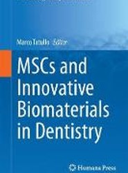 MSCs and Innovative Biomaterials in Dentistry 2017
