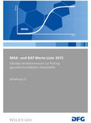 MAK- und BAT-Werte-Liste 2015: Mitteilung 51