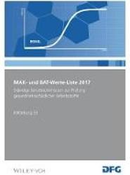 Mak und Bat-Werte-Liste 2017