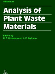 Analysis of Plant Waste Materials