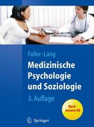 Medizinische Psychologie und Soziologie