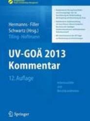 UV-GOÄ 2012 Kommentar