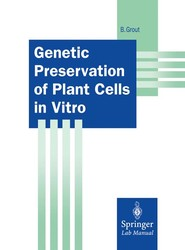 Genetic Preservation of Plant Cells in Vitro