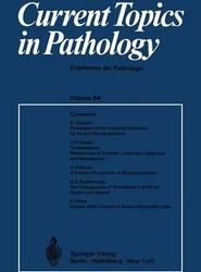 Current Topics in Pathology / Ergebnisse der Pathologie