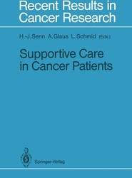 Supportive Care in Cancer Patients
