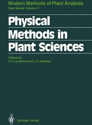 Physical Methods in Plant Sciences