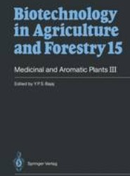 Medicinal and Aromatic Plants III