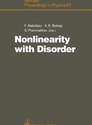 Nonlinearity with Disorder