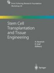 Stem Cell Transplantation and Tissue Engineering