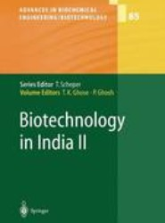 Biotechnology in India II