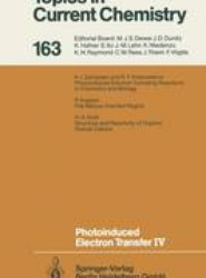 Photoinduced Electron Transfer IV