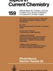 Photoinduced Electron Transfer III