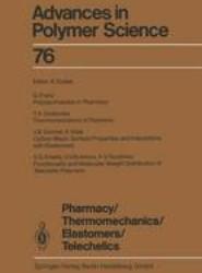 Pharmacy/Thermomechanics/Elastomers/Telechelics