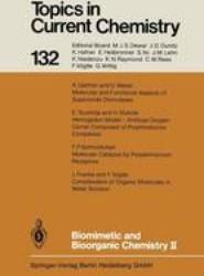 Biomimetic and Bioorganic Chemistry II