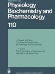 Reviews of Physiology, Biochemistry and Pharmacology 110