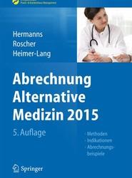 Abrechnung Alternative Medizin 2015